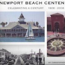 Image of Newport Beach Centennial - Photo book entitled Newport Beach Centennial.  Contains photos, histroies of Newport Beach.