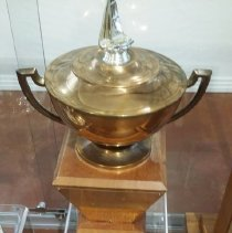 Image of The Mr. & Mrs. Joseph Beek Sportsmanship Trophy - 2016.45.09