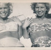 Image of Peggy Curtis-Marotta and friend