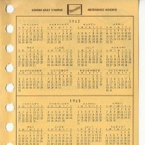 Image of Binder Calendar And Instructions - 2017.46.58