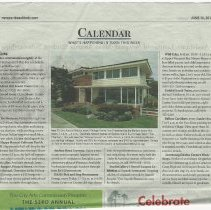 Image of Newport Beach Indy Newspaper Article 1 - 2017.62.01