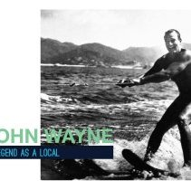 Image of John Wayne: Legend as a Local Info Booklet - 2017.67.01