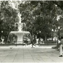 Image of 0123-045_01-18-017 - Forsyth Park Fountain