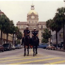 Image of 0123-045_02-77-004 - Mounted Police on Bull Street