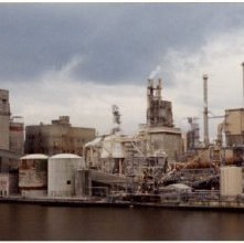 Image of 0123-045_08-41-001 - View of Industrial Plant on the Savannah River