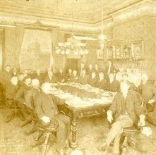 """Image of 1121-041-2_01 - City Council Meeting in the """"Long Room"""""""