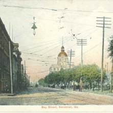 Image of 1121-057_0037 - Bay Street, Savannah, Ga.