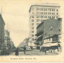 Image of 1121-057_0040 - Broughton Street, Savannah, Ga.