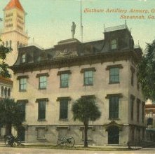 Image of 1121-057_0062 - Chatham Artillery Armory, Organized 1776, Savannah, Ga.