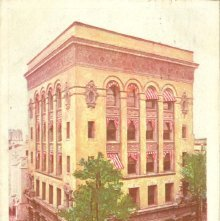 Image of 1121-057_0074 - The Citizens and Southern Bank, Savannah, Ga.
