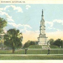 Image of 1121-057_0087 - CONFEDERATE MONUMENT, SAVANNAH, GA.