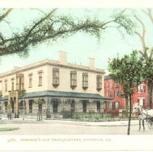 Image of 1121-057_0146 - SHERMAN'S OLD HEADQUARTERS, SAVANNAH, GA.