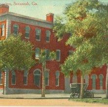 Image of 1121-057_0229 - Police Headquarters, Savannah, Ga.