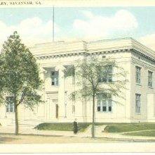 Image of 1121-057_0232 - PUBLIC LIBRARY, SAVANNAH, GA.