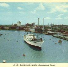 Image of 1121-057_0240 - N. S. Savannah, in the Savannah River
