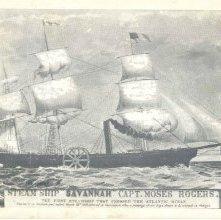 "Image of 1121-057_0242 - STEAM SHIP ""SAVANNAH"" CAPT. MOSES ROGERS."