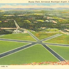 Image of 1121-057_0244 - Hunter Field, Savannah Municipal Airport, Savannah, Ga.