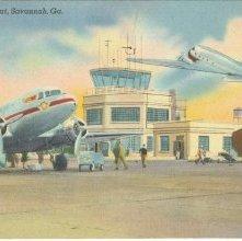 Image of 1121-057_0245 - Municipal Airport, Savannah, Ga.