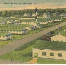 Image of 1121-057_0248 - BASE HOSPITAL AREA, SAVANNAH AIR BASE, SAVANNAH, GA.