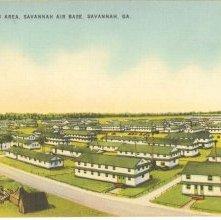 Image of 1121-057_0249 - HEADQUARTERS AREA, SAVANNAH AIR BASE, SAVANNAH, GA.