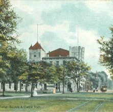 Image of 1121-057_0289 - Savannah, Ga.  Telfair Square & Castle Hall.