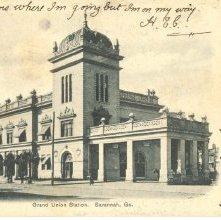 Image of 1121-057_0301 - Grand Union Station. Savannah, Ga.
