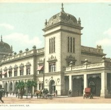 Image of 1121-057_0304 - UNION STATION, SAVANNAH, GA.