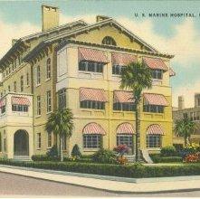 Image of 1121-057_0314 - U. S. MARINE HOSPITAL, SAVANNAH, GA.