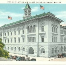 Image of 1121-057_0317 - NEW POST OFFICE AND COURTHOUSE, SAVANNAH, GA.--31