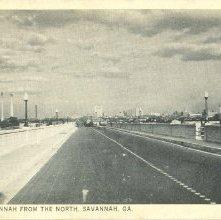 Image of 1121-057_0325 - ENTERING SAVANNAH FROM THE NORTH. SAVANNAH. GA.