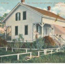 Image of 1121-057_0337 - The Waving Girl Greeting Steamers on the Savannah River, Savannah, Ga.