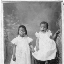 Image of 1121-100_0042 - Portrait of Two Young Girls