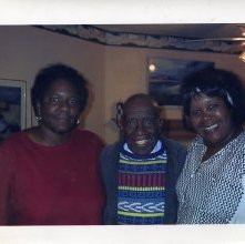 "Image of 1121-100_0296 - Mrs. Wanda Lloyd, W.W. Law and Mrs. ""Nita"" Dixon"