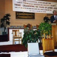 Image of 1121-100_0462 - First Tabernacle Missionary Baptist Church Centennial
