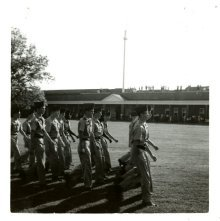 Image of 1121-100_0595 - Fort Pulaski Drills