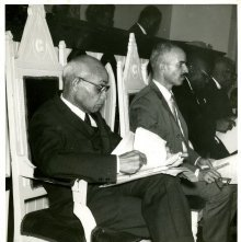 Image of 1121-100_0722 - Dr. J. W. Davis and Dr. J. W. Jamerson