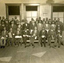 Image of 1121-100_0002 - Black Masonic Order Group Photo