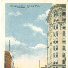 Image of 1121-057_0408 - Broughton Street looking West, Savannah, Ga.
