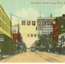 Image of 1121-057_0410 - Broughton Street looking West, Savannah, Ga.