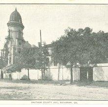 Image of 1121-057_0520 - CHATHAM COUNTY JAIL, SAVANNAH, GA.