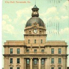 Image of 1121-057_0584 - City Hall, Savannah, Ga.