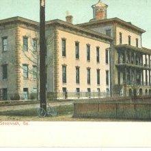 Image of 1121-057_0585 - City Hospital, Savannah, Ga.