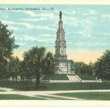 Image of 1121-057_0614 - Confederate Monument, Savannah, Ga.--70
