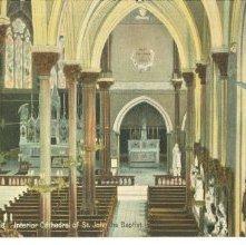 Image of 1121-057_0849 - Savannah, Ga. Interior Cathedral of St. John the Baptist.
