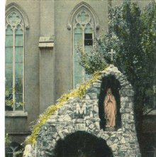 Image of 1121-057_0859 - GROTTO OF THE BLESSED VIRGIN IN THE COURT OF ST. VINCENT ACADEMY. SAVANNAH, GA.