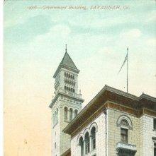Image of 1121-057_1170 - Government Building, SAVANNAH, Ga.