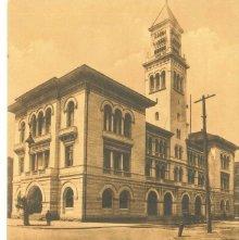 Image of 1121-057_1173 - U.S.C.H. and Post Office, Savannah,Ga.