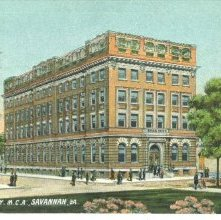 Image of 1121-057_1305 - NEW Y.M.C.A., SAVANNAH, GA.