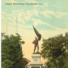 Image of 1121-057_1375 - Jasper Monument, Savannah, Ga.