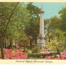 Image of 1121-057_1477 - Monterey Square, Savannah, Ga.